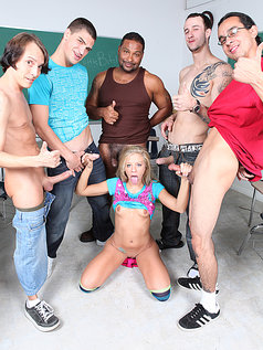 Chastity Lynn Makes the Gang Bang Good