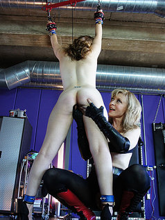 Charli Piper Molested by Nina Hartley's Toys