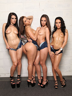 Cassidy, Katrina, Megan and Abella - Best of the Best