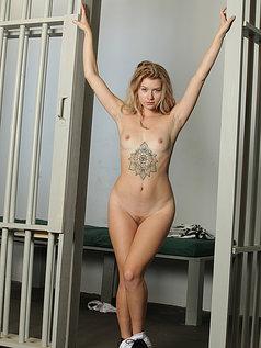 Arya Fae - Caged Blonde