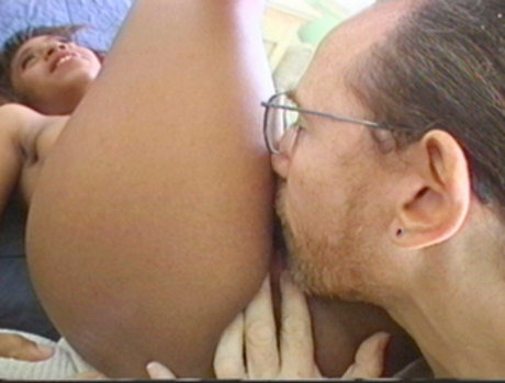 Ed Powers Gets To Fuck Two Black Babes Before Blowing His Load On Them!