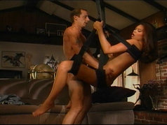 Tera Patrick gets fucked in a weird chair