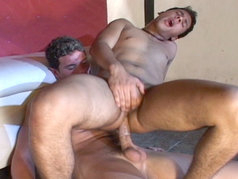 A hung boy with a huge dick