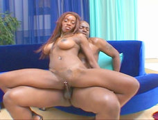 Lena S'mone is a nice black chick with glorious tits!