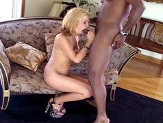 She gives that cock a good working over...