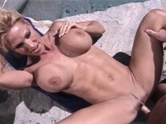 Busty Blonde Gets Paid To Fuck In Front Of Husband