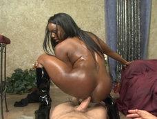 Jada Fire - Interracial Anal and a Sudden Creampie!