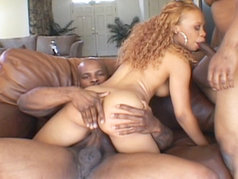 Redd Fox and two big black cocks...