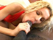 Leticia enjoys a big black cock...