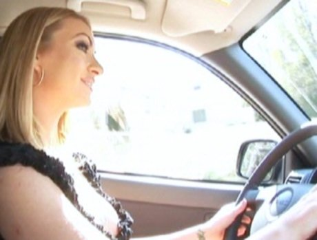 Aline drives over to Lex's place...
