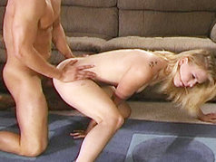 Barbi Lane Gets Her Face Splashed With Man Goo!