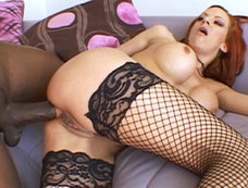 Shannon Kelly can insert Lex's giant rod completely up her ass...