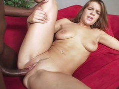 Ashley Anne devours cocks like she's on a mission!