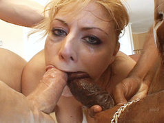Velicity Von Loves To Get Her Throat Slammed And Her Face Covered In Thick Loads!