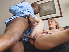 Darryl Hanah Loves Black Dick