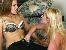 Samantha Ryan And Heather Silk Unleash Some Of Their Sexual Tensions.