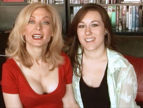 Nina Hartley And Sinn Sage Reach Their Goals....And Celebrate With A Little Sex!