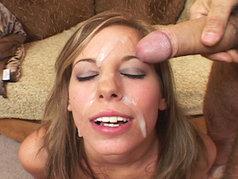 Brandon Iron And Friends Give Alexa Benson Gets An Eye Patch Made Of Cum!