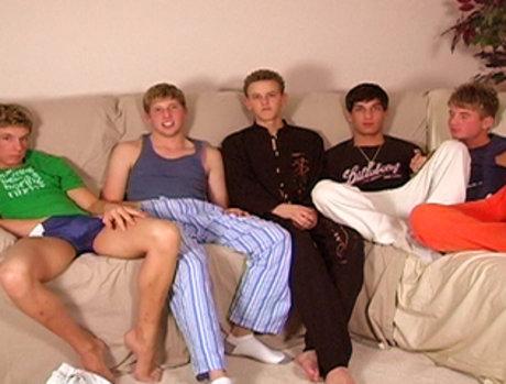 Sean Corwin, Tyler Bradley, Tyler Berke, Blair Mason