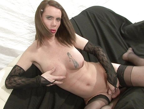 Busty Trannies Exposed 1 - Scene 2