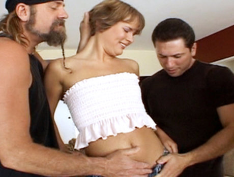 After Swallowing So Much Sperm In Part One, Clair Robbins Comes Back For Some DP In Part Two!