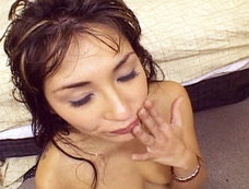 Roxy Jezel Swallows Down Multiple Loads After A Nasty DP!