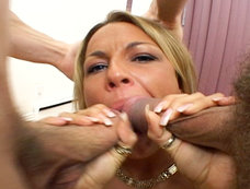 Triple Penetration, If you Count the Mouth!