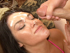 Dark Haired MILF Alyssa Dior Shows Up At Brandon Iron's Studio Looking For Some Dick!