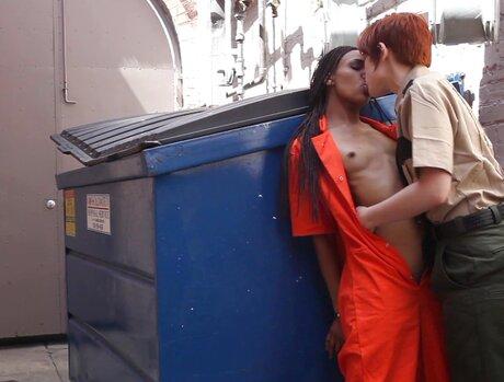 Lily Cades Lesbian Lockup 1 - Scene 2