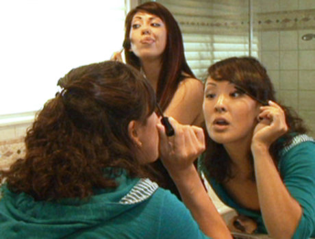 Jandi Lin And Satine Phoenix Are Both Auditioning For The Same Part In A Movie...And That Just Simply Won't Do!