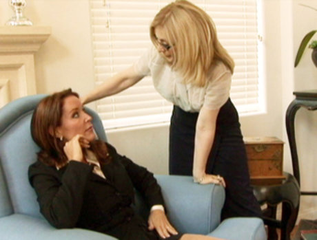 Nina Hartley Extracts Her Revenge On Rachel Steele For Making Her Girlfriend Dump Her!