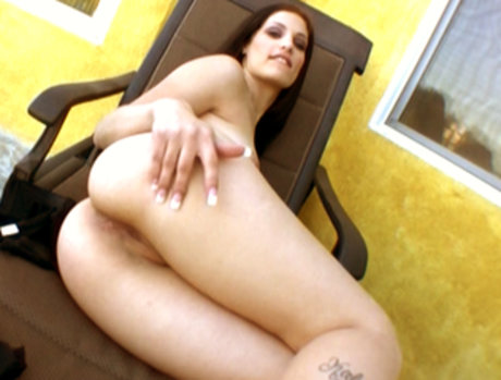 White Jessica Write gets black shaft in every hole!