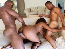 Justin Slayer And His Boy Power Pump Skyy Black's Tight Pussy!