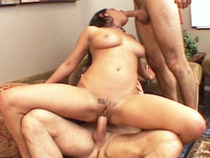 Charley Chase Gets Fucked Like A Whore By Two Big Cocks!