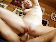 Blonde Slut Missy Monroe Swallows Down A Gooey Load.