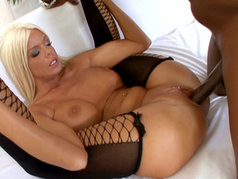 Jordan Blue Gets Deep Dicked By Sean Michaels' Hard Cock!