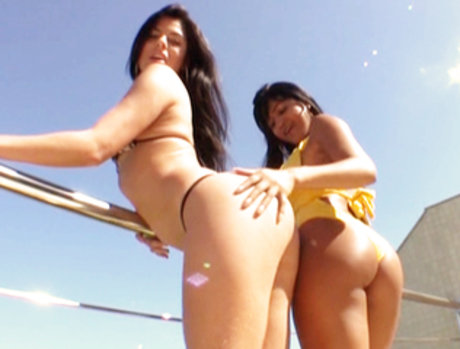 Group Sex with Anny Castro and Fabiane Thompson