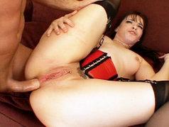 Dana Dearmond Swallows Down A Big Juicy Load!