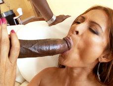 Latin Milf Monique Fuentes Cound't Wait To Meet Lex Steele's Big Black Dick!