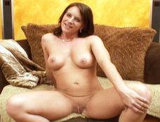 Smokin' Hot Olivia Sinclair Swallows A Load After Sucking Hard Cock!