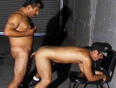 Latin Guys Whip Out Their Cocks And Fuck Like Animals!