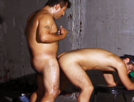 Leather Clad Latin Guys Pump Each Others Asses Full Of Cock!