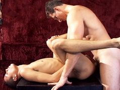 Twink Painter Gets His Ass Crack Drilled By A Big Nerdy Cock!