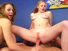 Cherry Poppins and Mariah Cherry - Cum Swapping Threesome