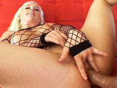 Beautiful Blonde Jocelyn Jayden Opens Up Her Ass For Business!