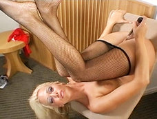 Lonely Blond's Flesh Goes for Fantasy