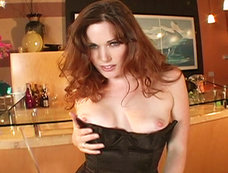 Aimee Sweet Dresses Up All Sexy And Then Touches Her Sweet Cunt!