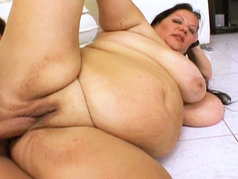 Wonder Tracy Gets Fucked And Covered In Cum!