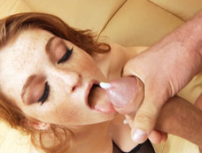 All-Natural Redhead Faye Valentine Was Cock Deprived...Until Today!