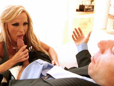 Blonde Milf Nikki Benz Has Big Tits And She Loves Cock Too!